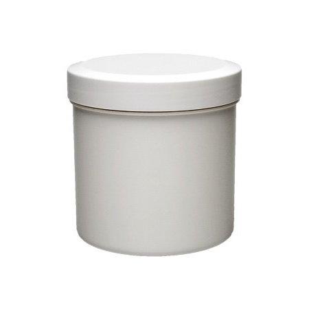 Image of   125 ml. hvid plast dåse