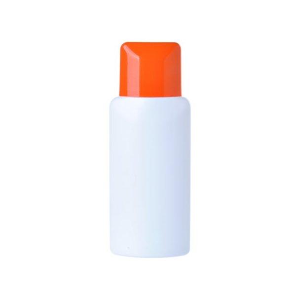 150 ml. lotion flaske med orange hætte