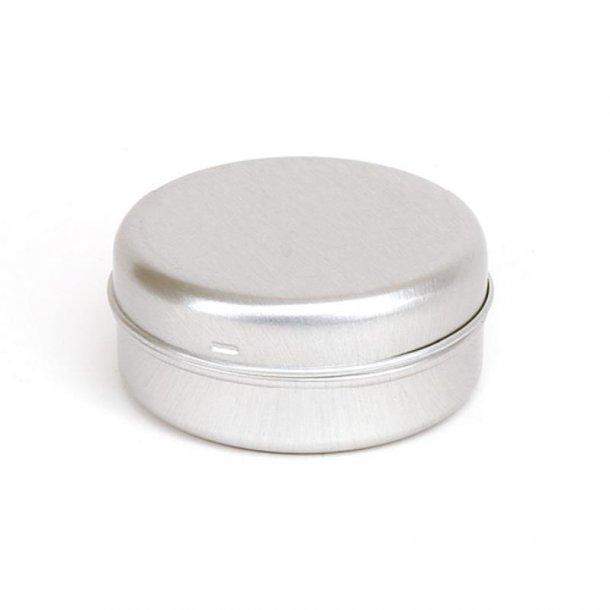 30 ml. aluminiums bøtte med klik låg