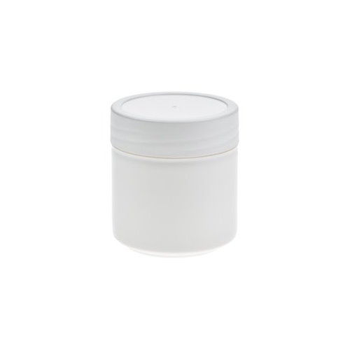 Image of   35 ml. hvid plast dåse