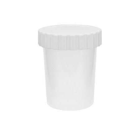 Image of   50 ml. plastdåse - gennemsigtig mat