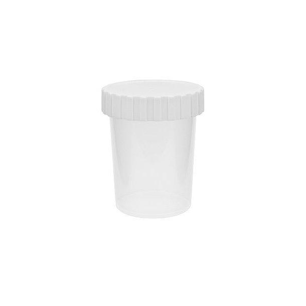 50 ml. plastdåse - gennemsigtig mat