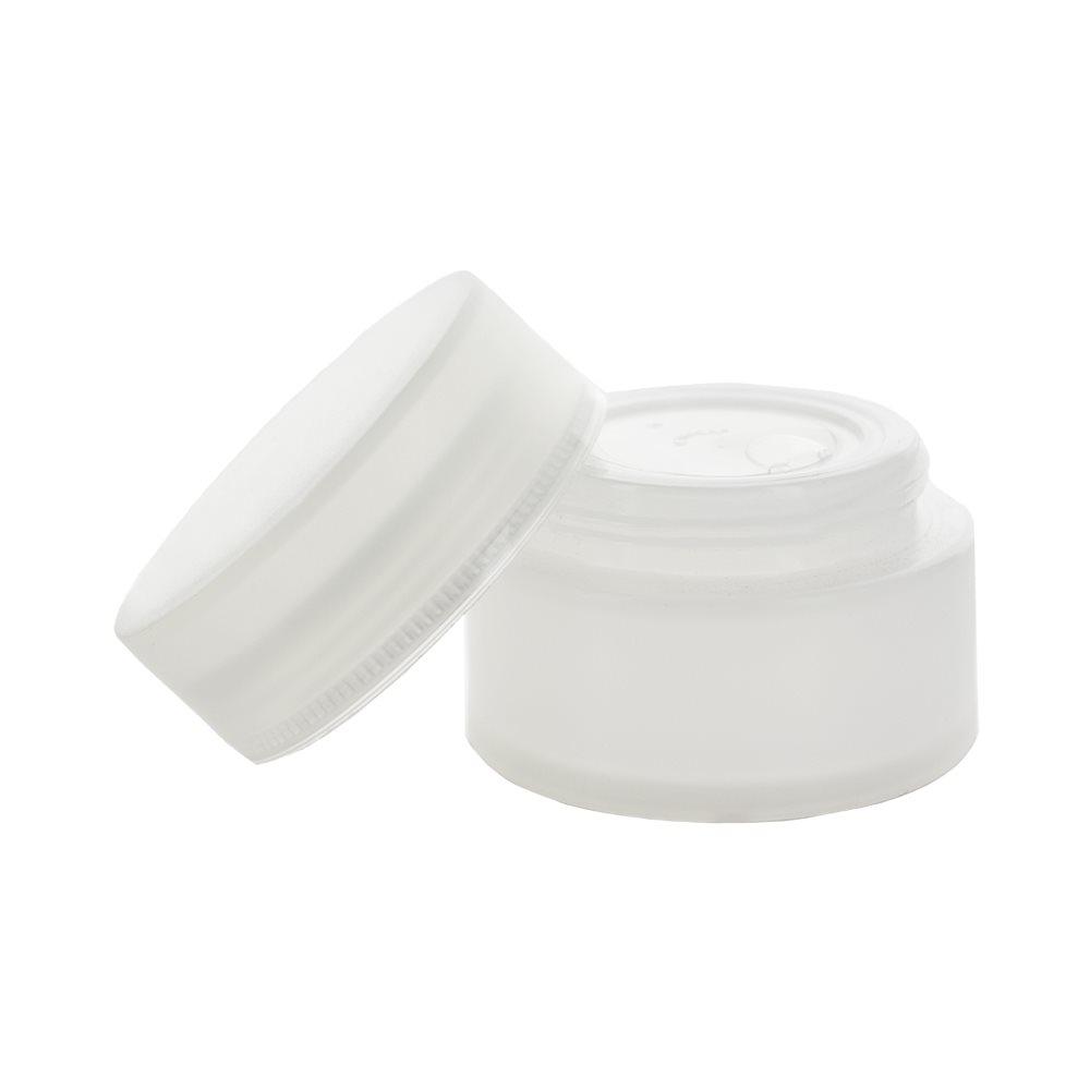 Image of   50 ml. semi-gennemsigtig creme bøtte i plast