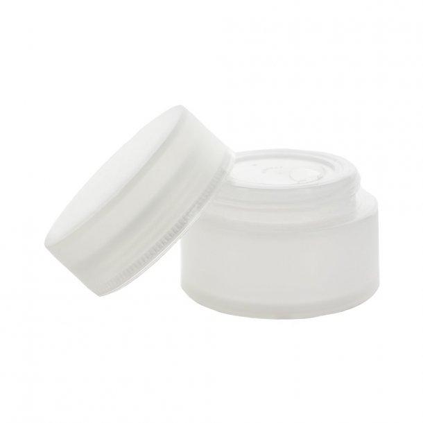 50 ml. semi-gennemsigtig creme bøtte i plast