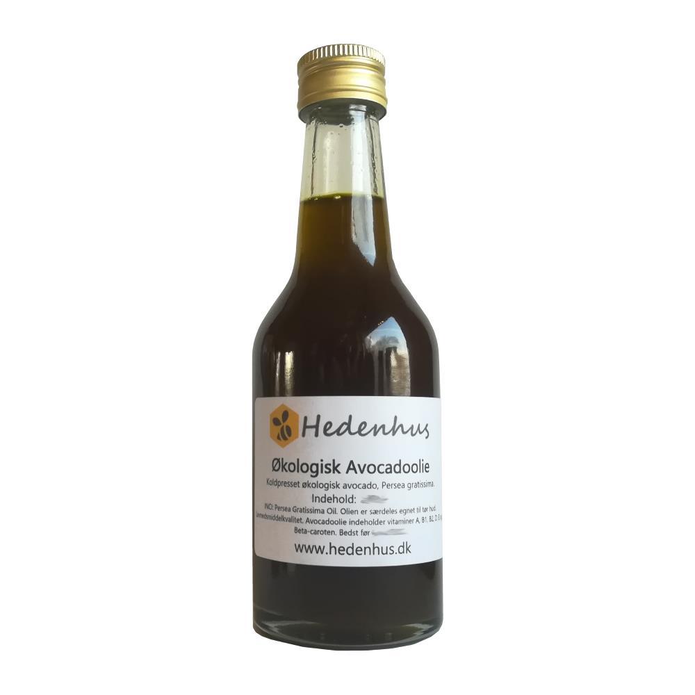 Image of   Avocadoolie - Økologisk & Uraffineret 100 ml