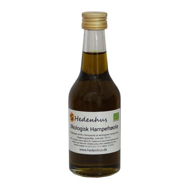 Hampefrøolie - Jomfru - Økologisk
