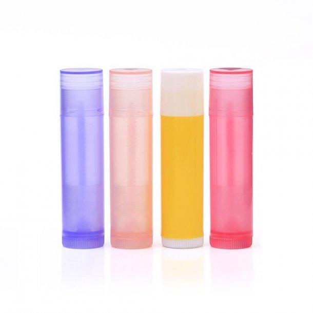 Læbepomade hylstre - fl. farver