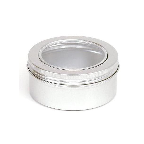 150 ml. Aluminium Bøtte Med Vindue