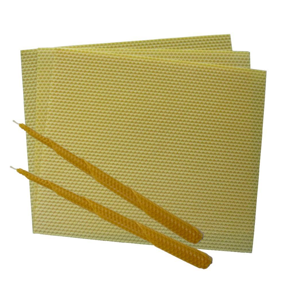 Image of   Bivoksplader til lys 85 gram