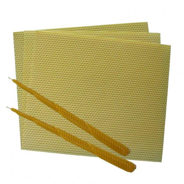 Bivoksplader til lys 85 gram