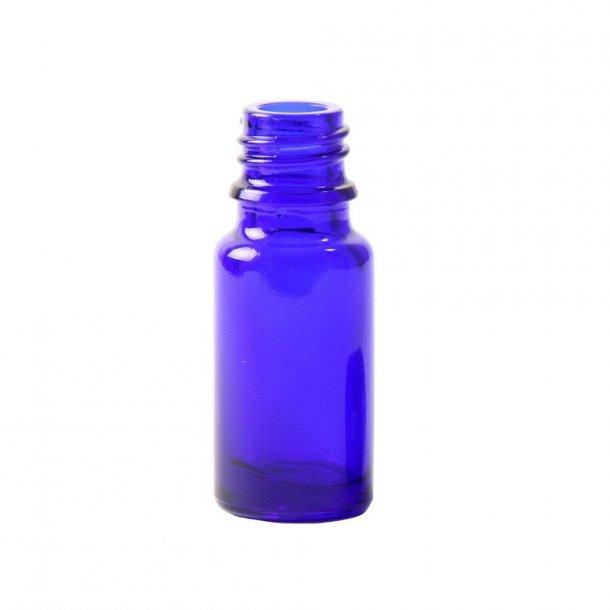 10 ml. blå glasflaske
