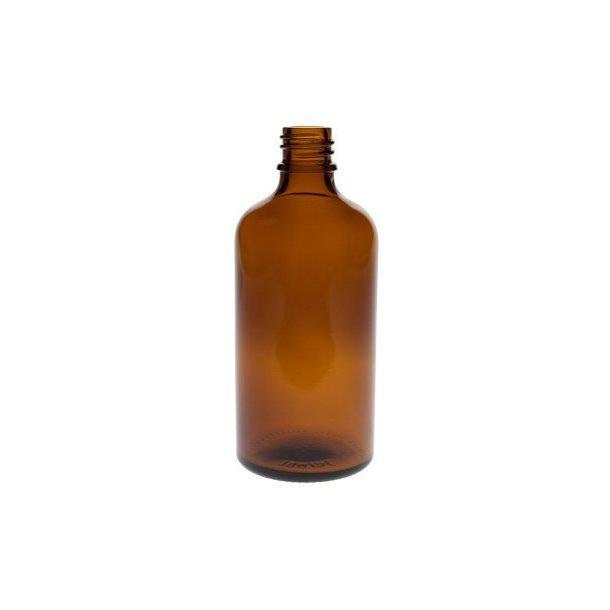 100 ml. brun glasflaske