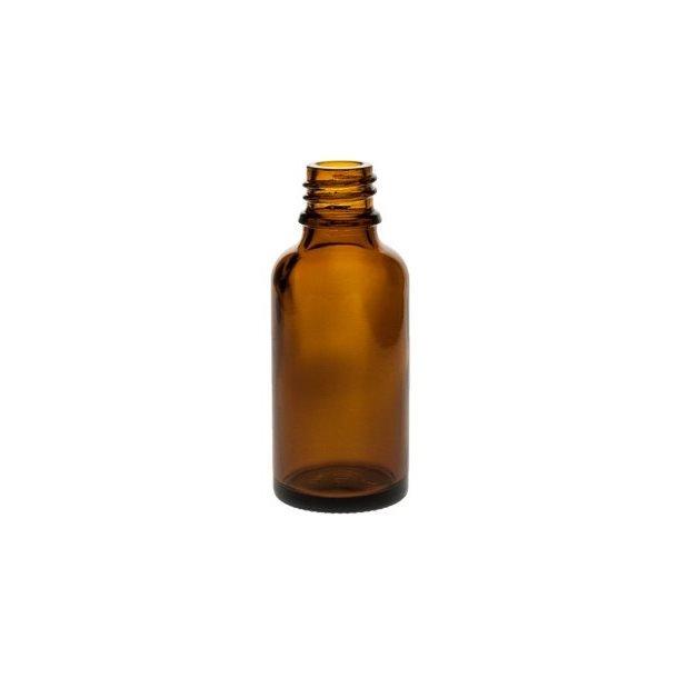 30 ml. brun glasflaske