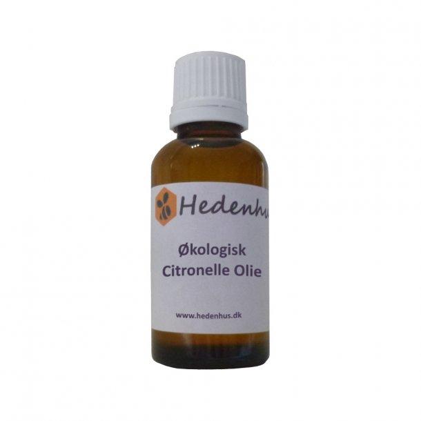 Citronelle - Citronella olie - Økologisk