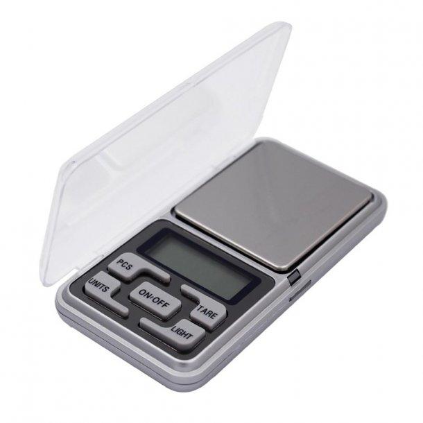 Digital lommevægt - 2 decimalers præcision