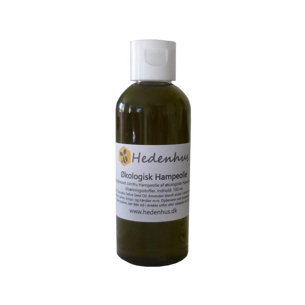 Hampefrøolie - Jomfru - Økologisk 50 ml