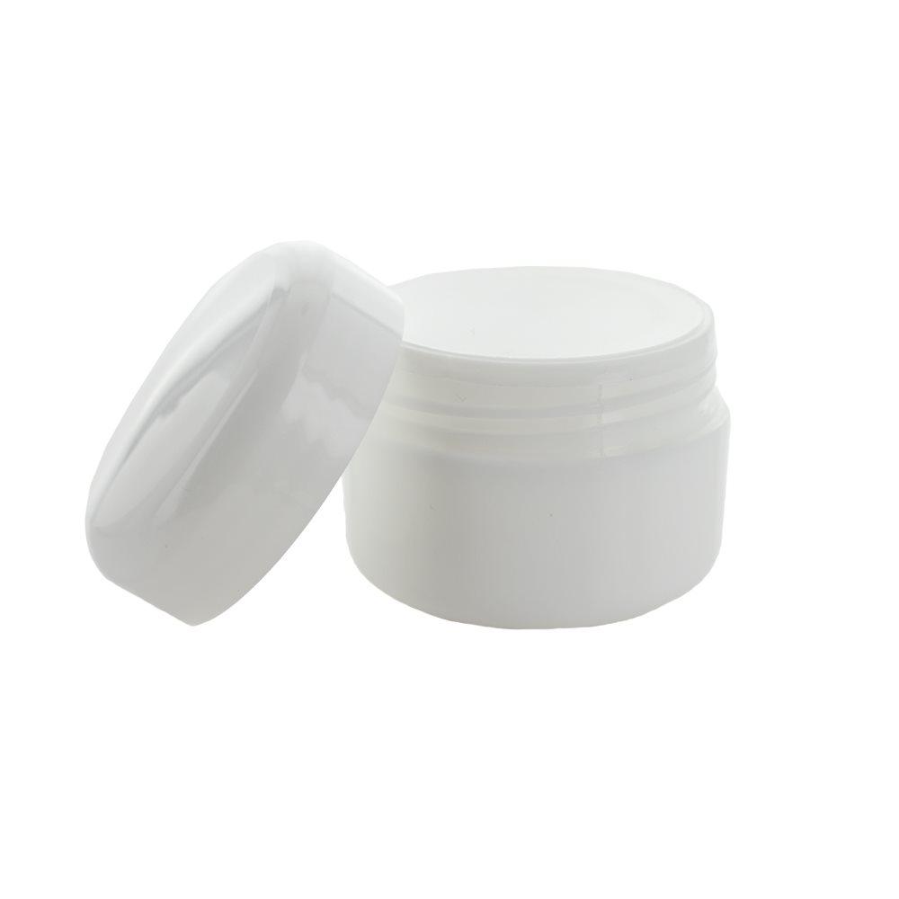 Image of 25 ml. hvid creme bøtte i plast