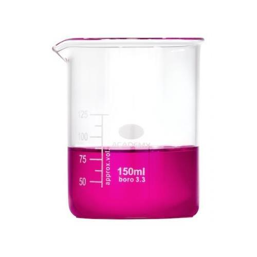 Ildfast målebæger i glas 150 ml.