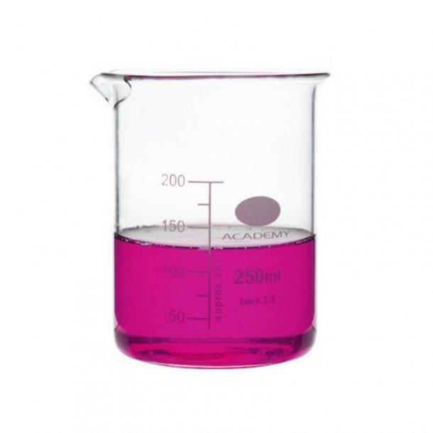Ildfast målebæger i glas 250 ml.