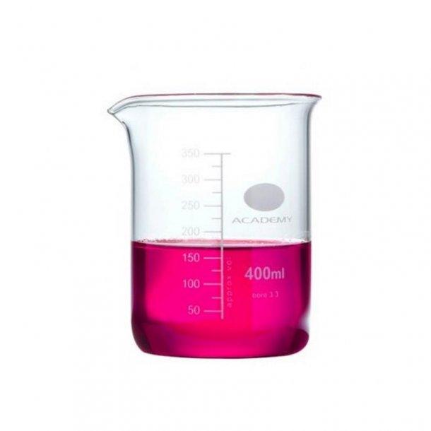 Ildfast målebæger i glas 400 ml.