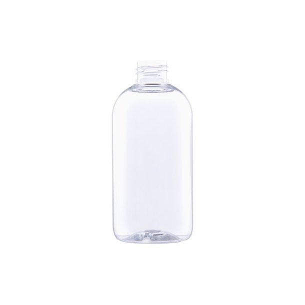 250 ml. klar plastflaske - PET - 24/410