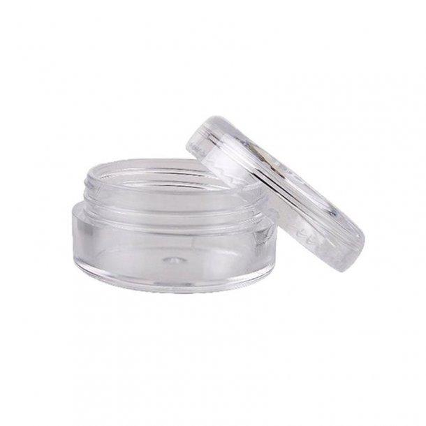 5 ml Rund beholder med klar eller farvet låg