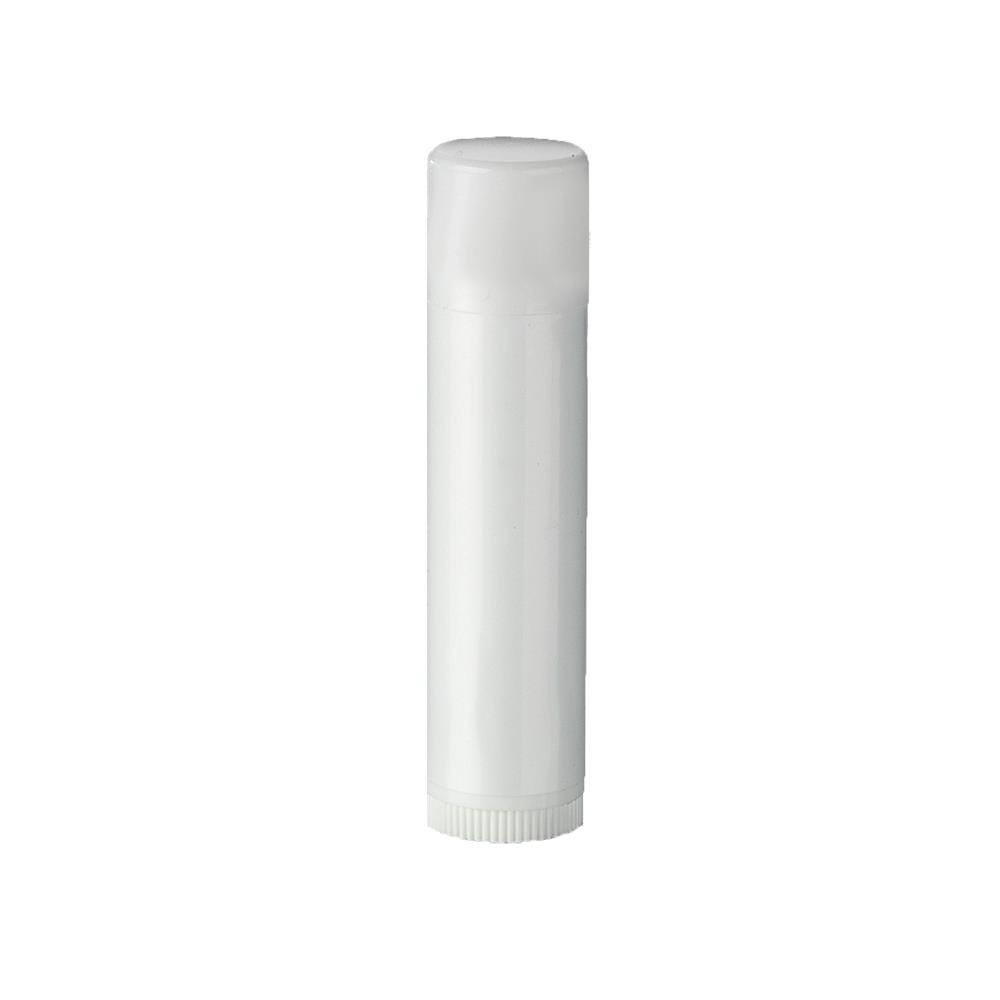 Læbepomade hylstre - Sort, Hvid el. Klar Hvid 4,1 ml.