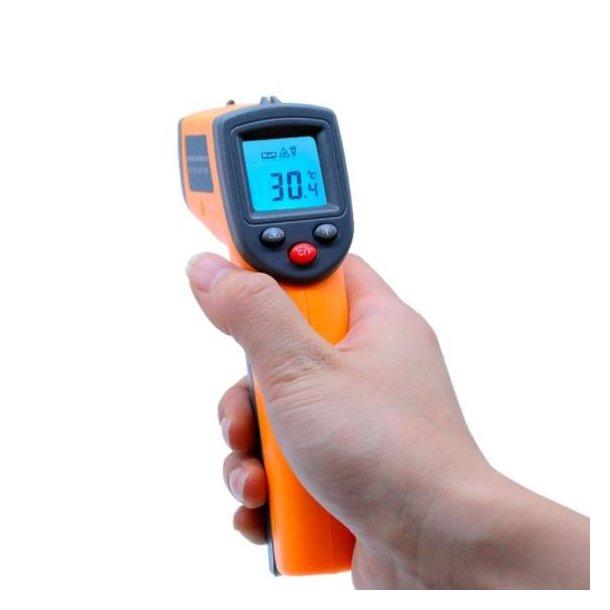 Digital laser infrarød termometer
