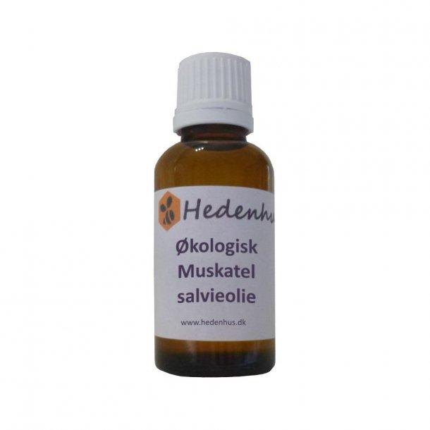 Muskatelsalvieolie - Økologisk