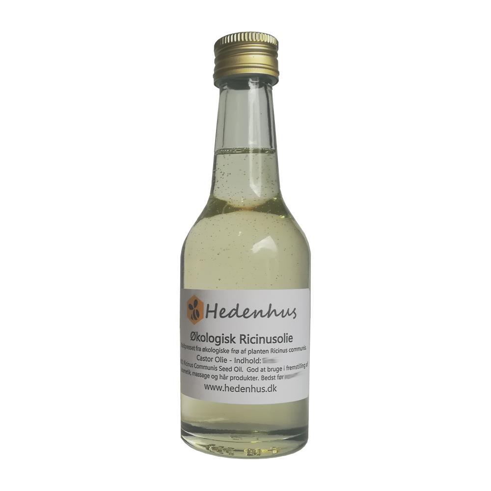 Ricinusolie / Castor Olie - Økologisk 1 liter