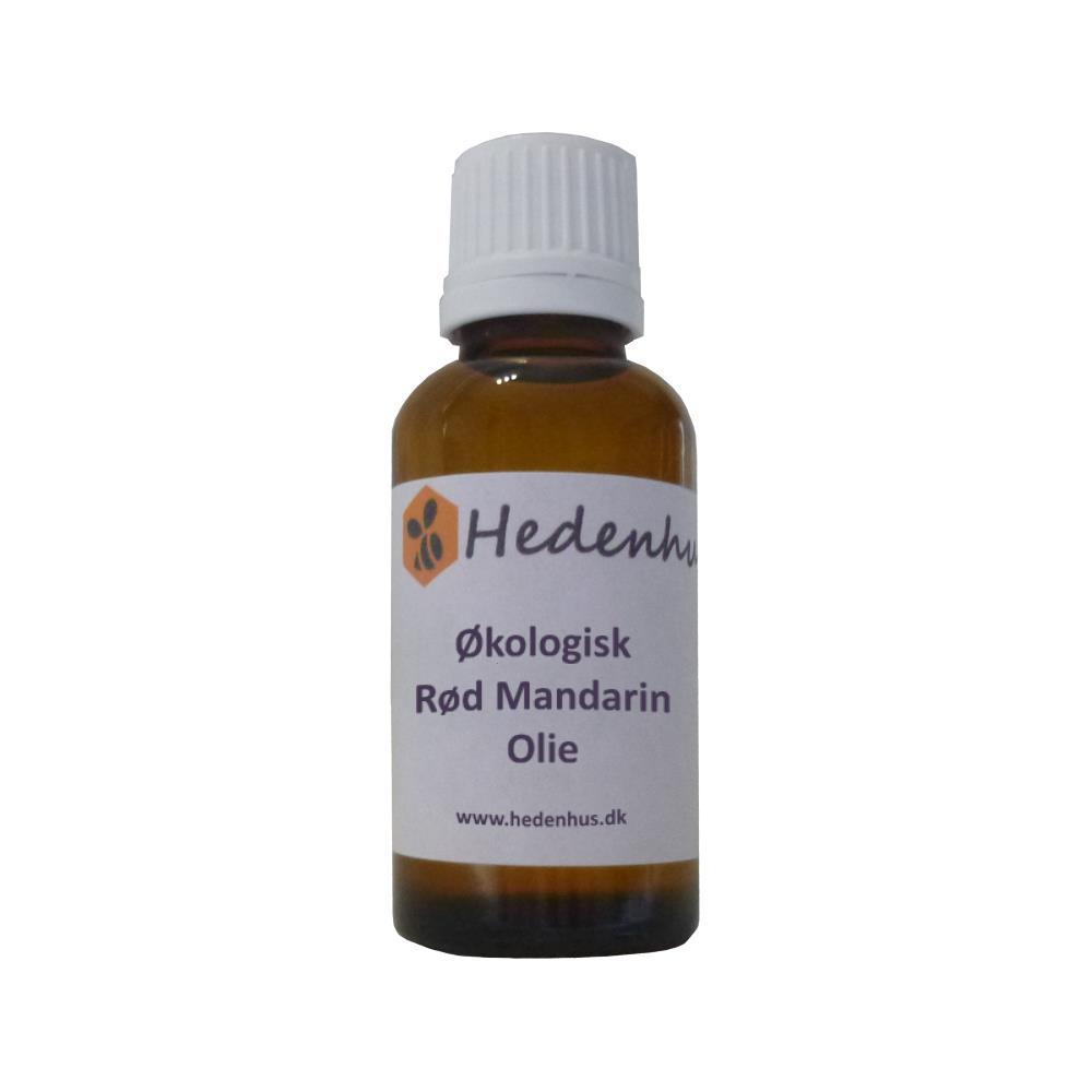 Rød Mandarin olie - Økologisk 10 ml