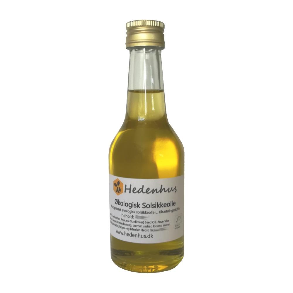 Solsikkeolie - Økologisk - Koldpresset 1 liter