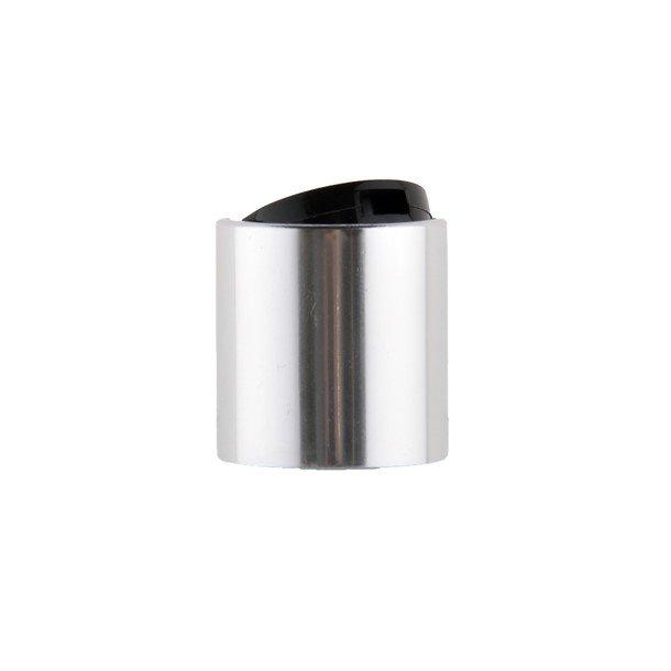 Tryk låg - sølv/sort - 24/410