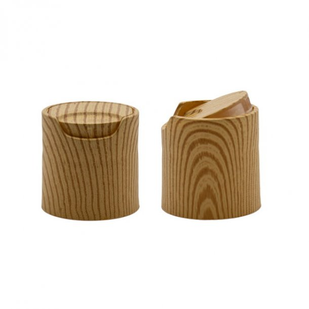 Tryk låg - med træ mønster - 24/410
